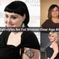 Hairstyles for Fat Women Over Age 40