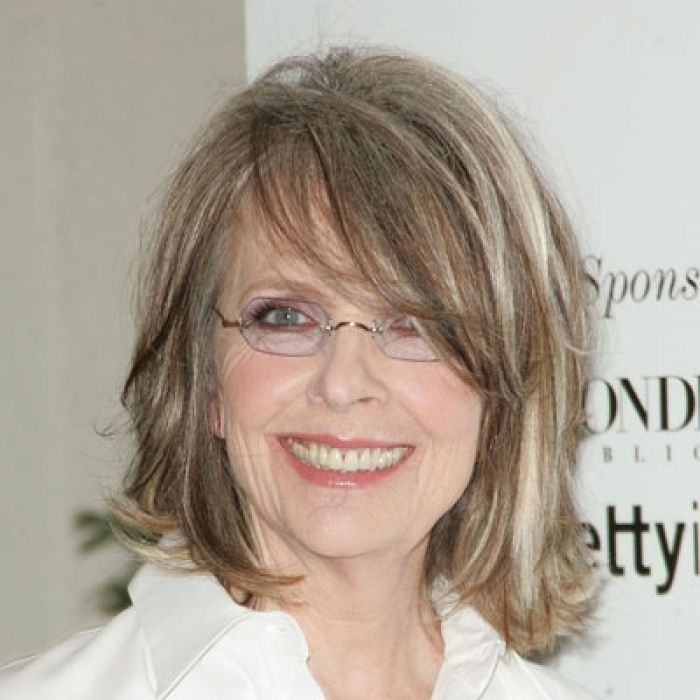 Hairstyles for Women above 50 with Fine Hair and Glasses long bob with side swept bangs