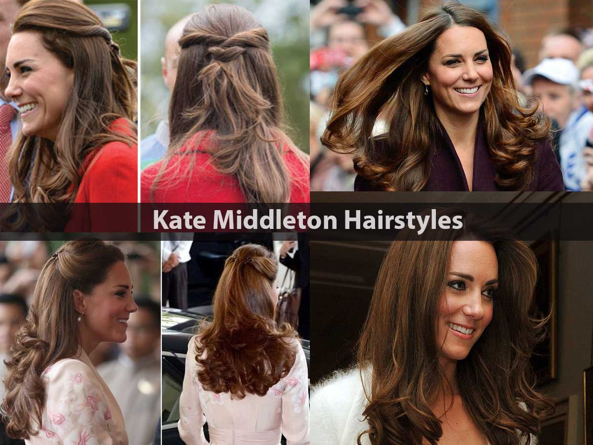 Kate Middleton latest new Hairstyles