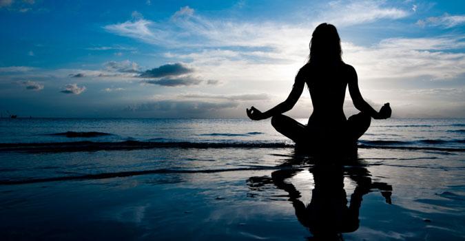 Meditate for white hjair