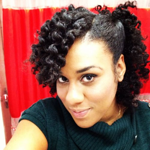 Most Inspiring Natural Hairstyles for Short Hair Short Twist Out