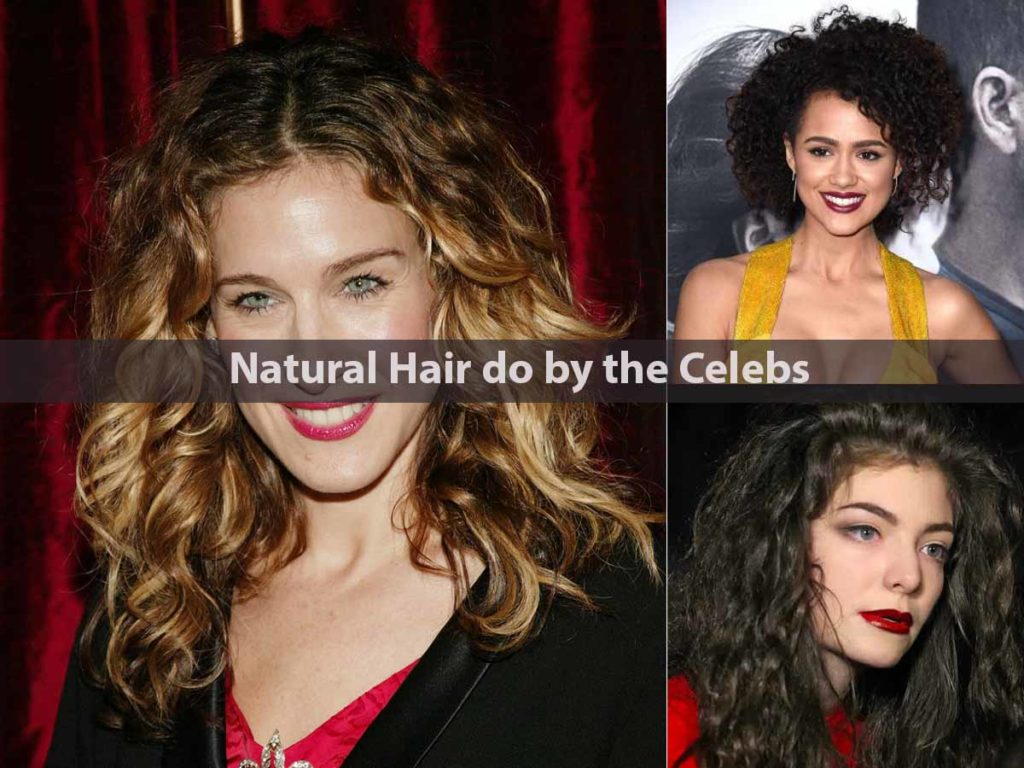 Natural Hair do by the Celebs