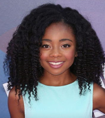 Natural hairstyles by the celebs Skay Jackson