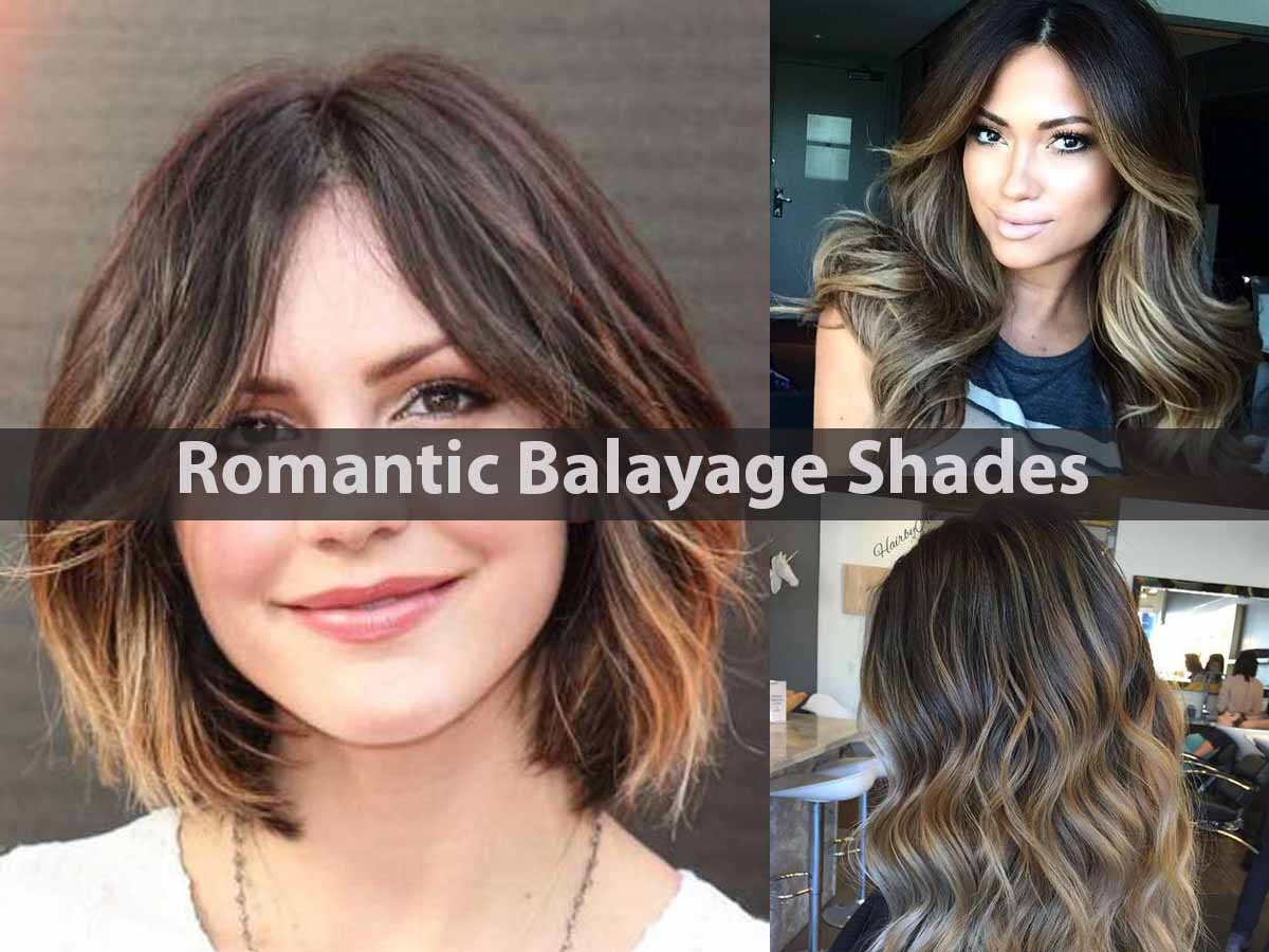 Romantic Balayage Shades