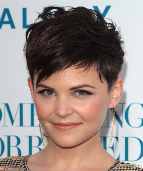 amazing hairstyles for your round face Pixie cut