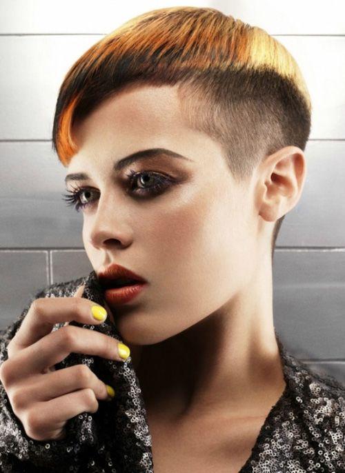 chic short hairstyles for women Belinda chic look