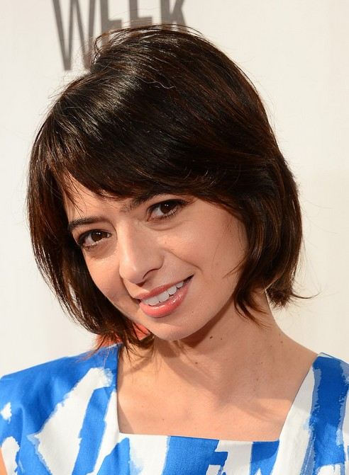 chic short hairstyles for women Christine chic look