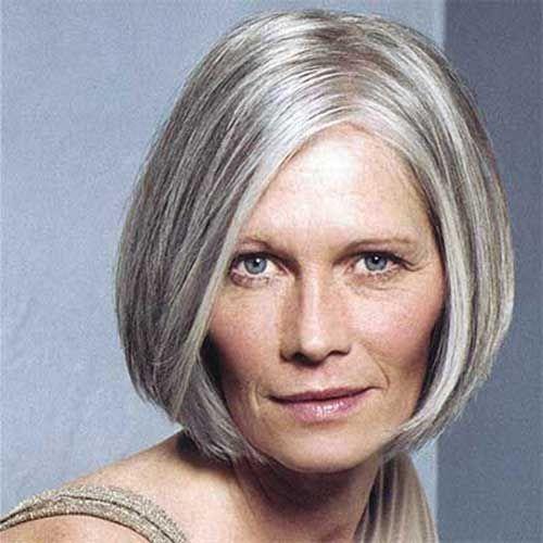 chic short hairstyles for women Meryl chic look