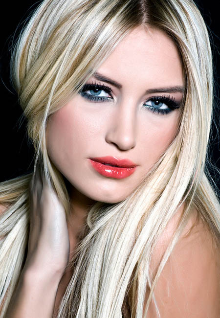 hair colors for women Bold blonde