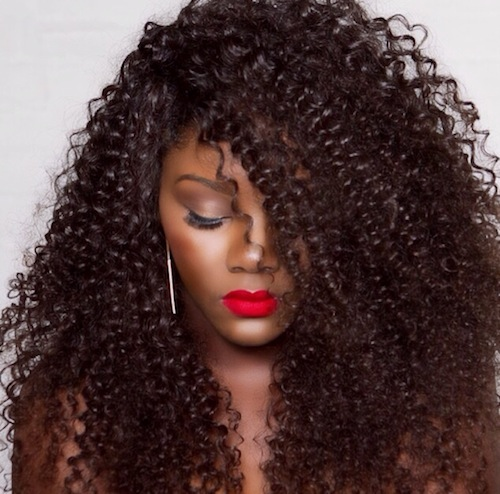 Hairstyles for Long Thick Hair thick hair Tight curls