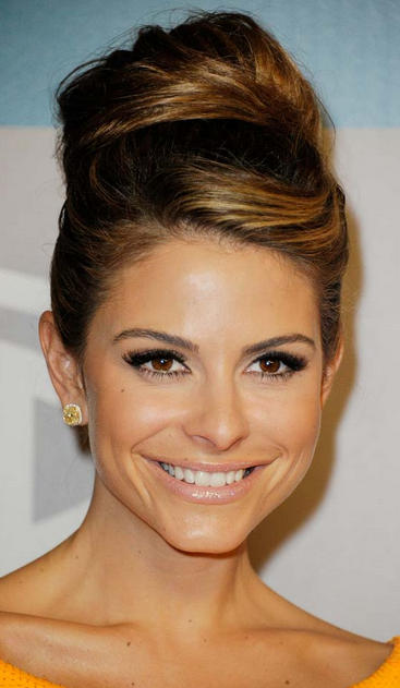 party hairstyles for long hair high rolled up bun