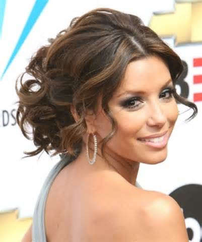 party hairstyles for long hair low messy bun