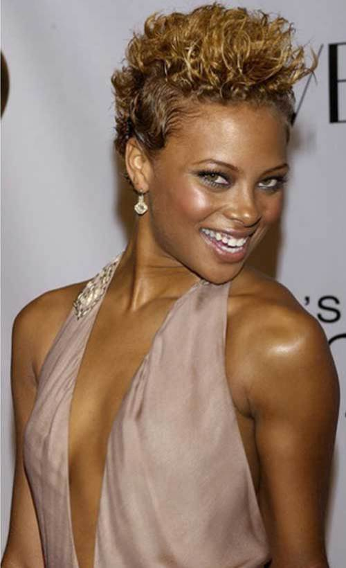 short curly hairstyles for black women Lifts