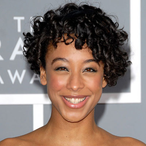 short curly hairstyles for black women Natural
