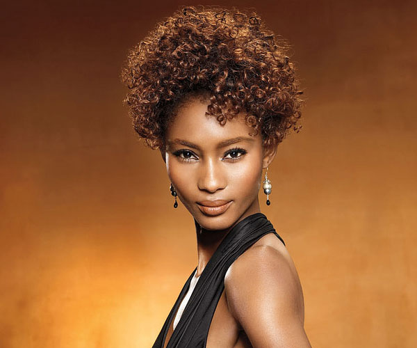 short curly hairstyles for black women Terrific