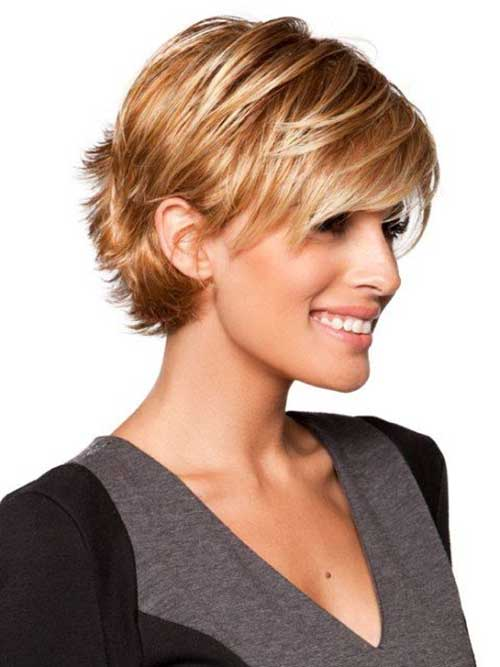 short hairstyles with bangs fine short hair