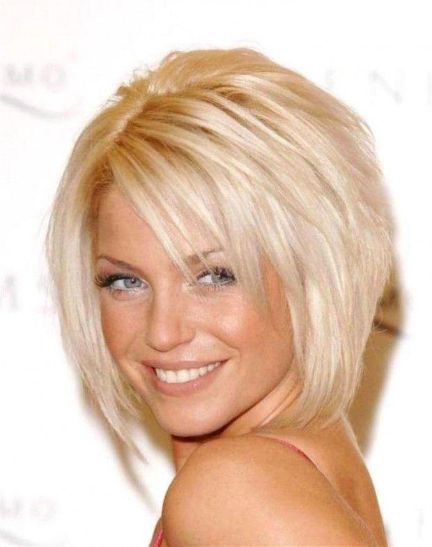 short hairstyles with bangs layered bob cut with layered bangs