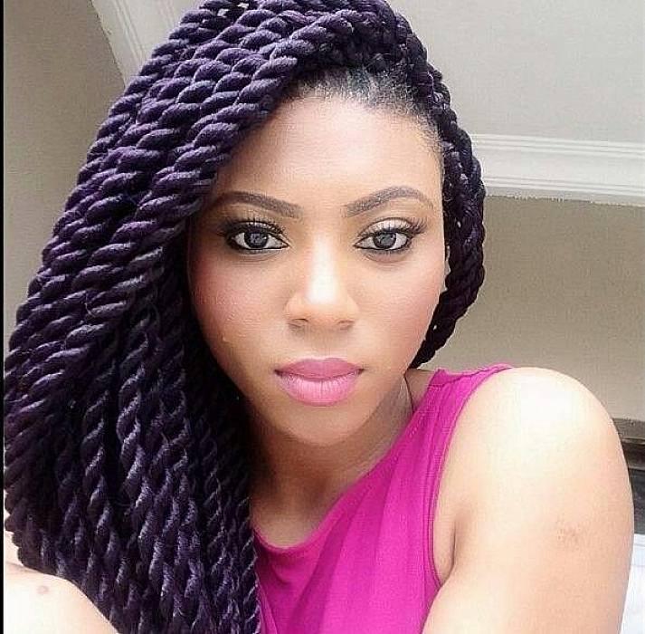 10. Cute Hairstyles for Black Girls Big Box Braided hairstyle for black girls