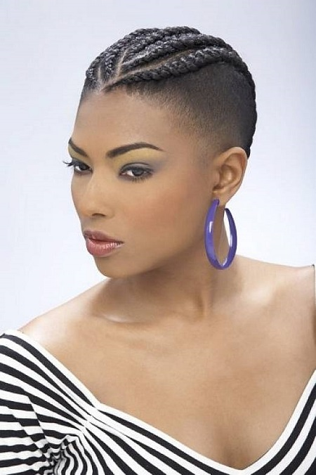 24. Cute Hairstyles for Black Girls Braided Mohawk Hairstyles