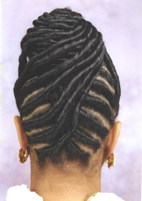 27. Cute Hairstyles for Black Girls sophisticated braided updo