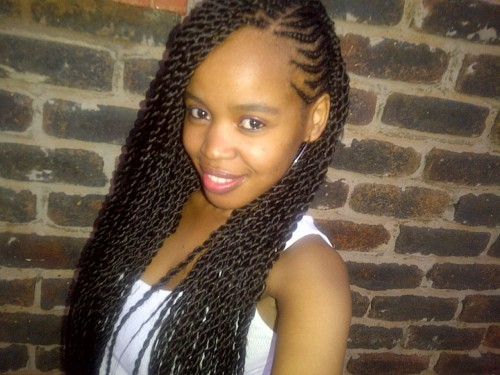 3. Cute Hairstyles for Black Girls weave braided hairstyle
