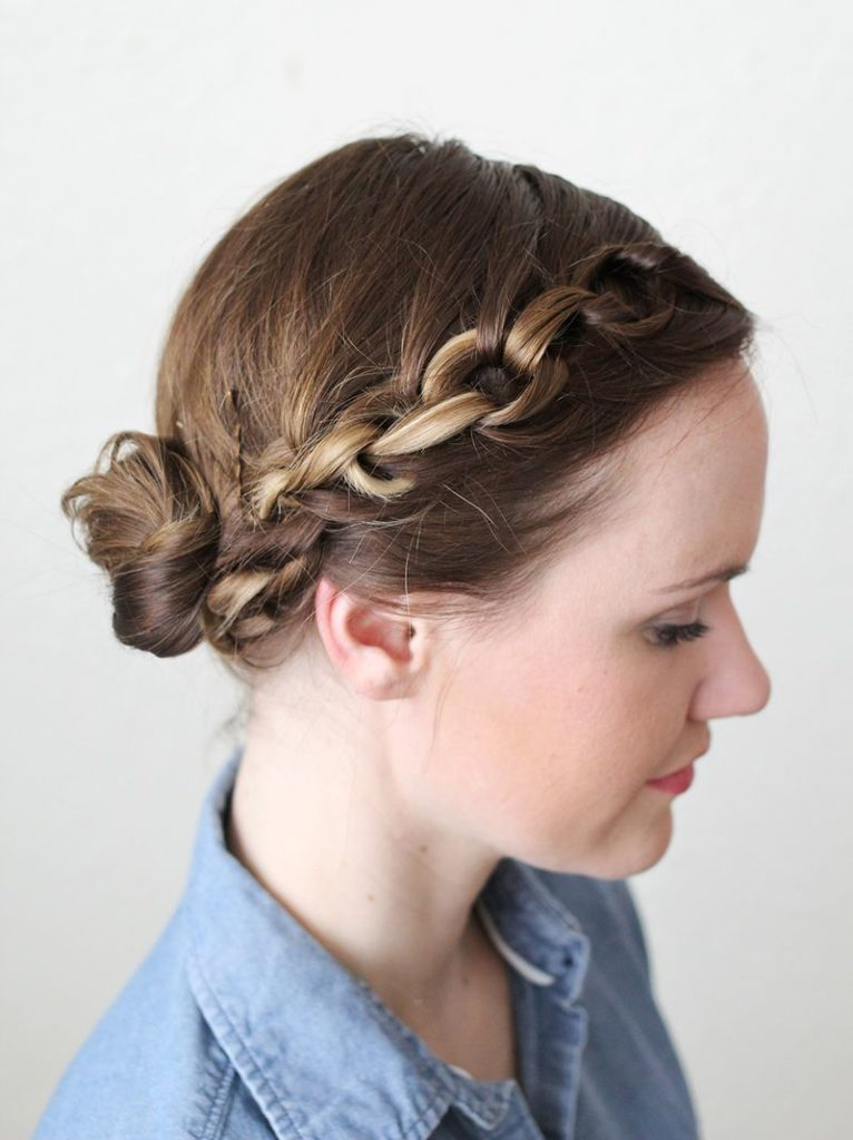 lock hairstyle