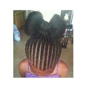 Cute Hairstyles for Black Girls braided bow