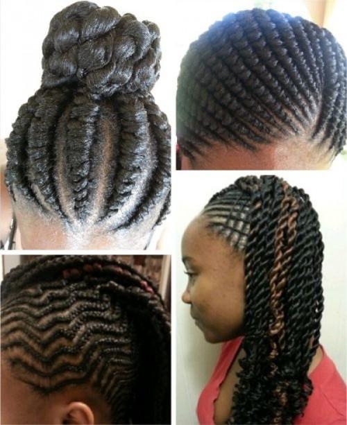 Little Black Kids Braids Hairstyles Picture Little Girl Braiding Hairstyles African American