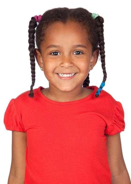 Cute Hairstyles for Black Girls braided pigtail bun