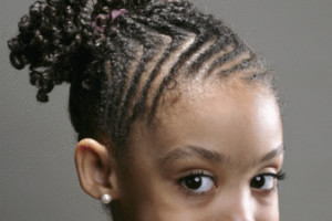 Cute Hairstyles for Black Girls braided ponytail