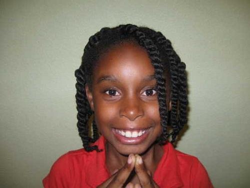 Cute Hairstyles for Black Girls short braided look