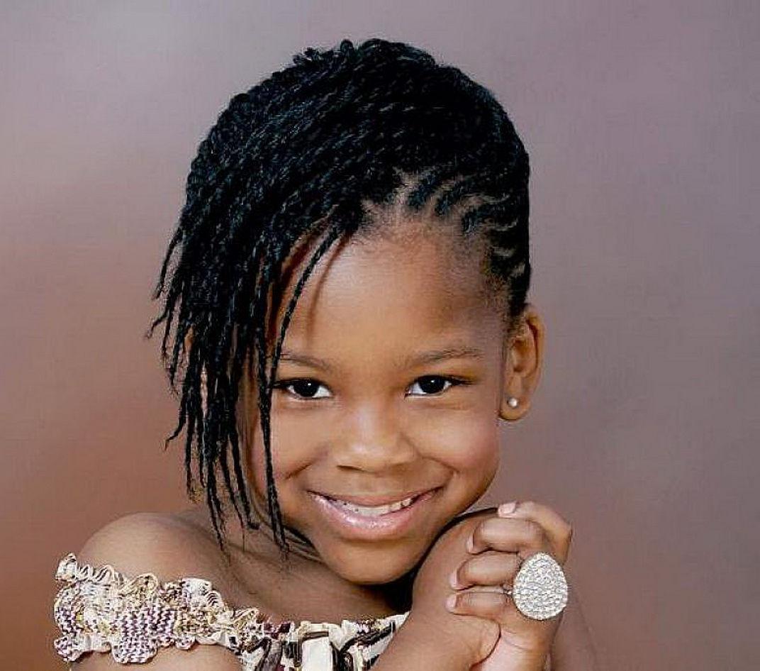 Cute Hairstyles for Black Girls side look