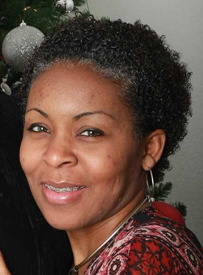 Short hairstyles for black women above 50 bushy pixie
