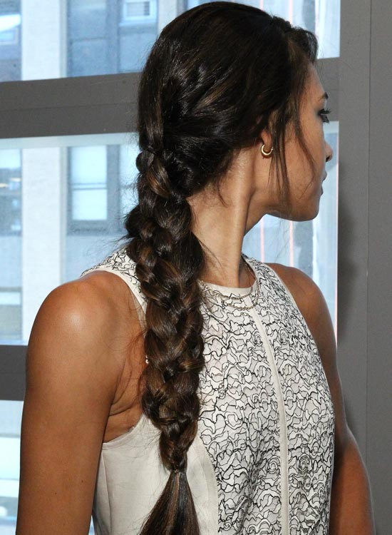 side long braid