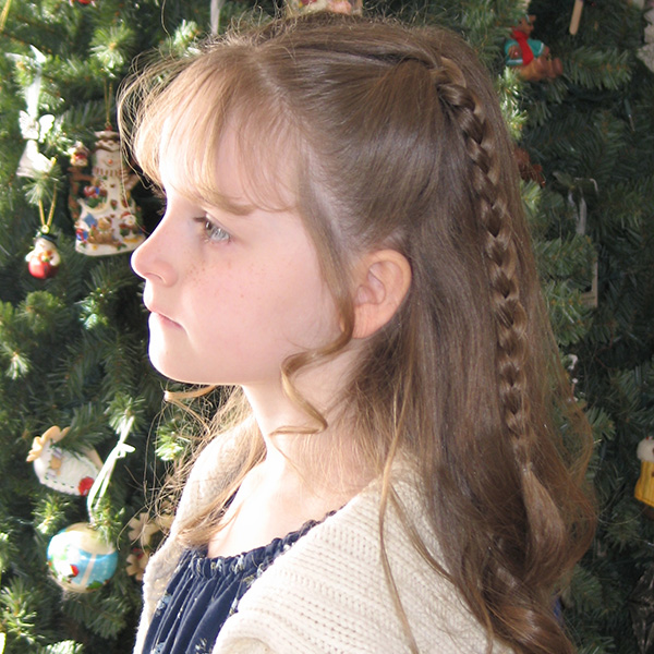 braids style for kids braids with bangs