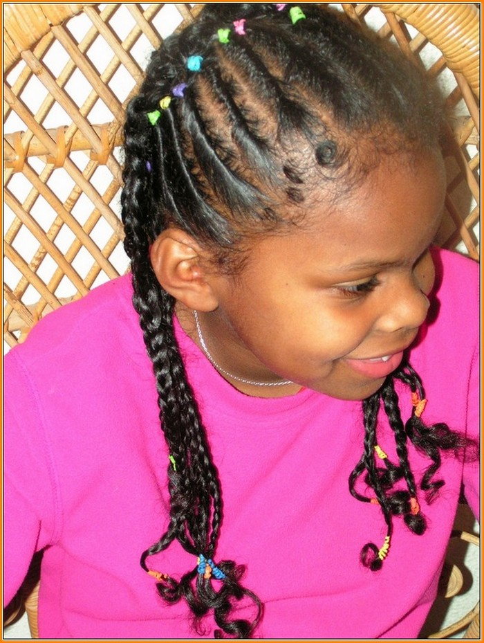 braids style for kids pig tail braid