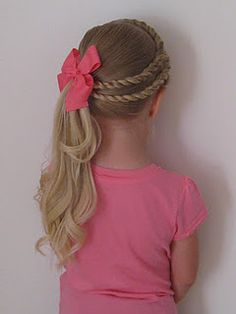 braids style for kids side back braid