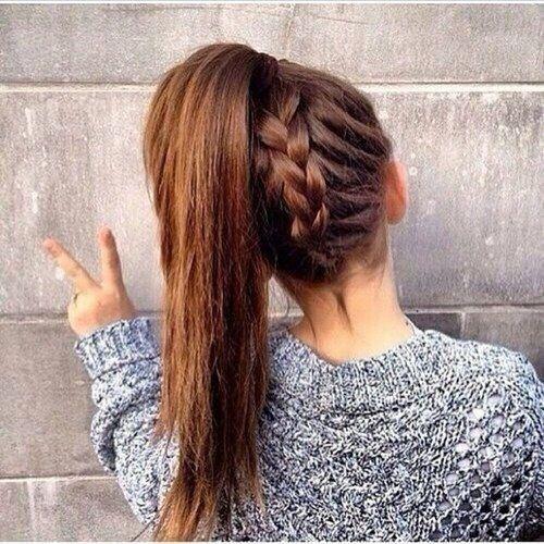 back braid