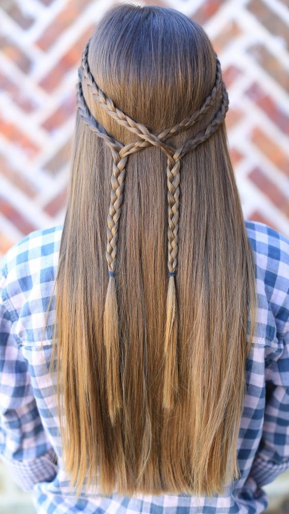 charming double braid