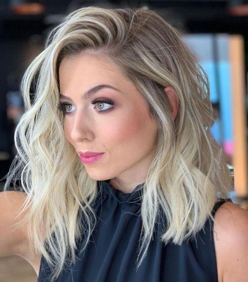 blonde wave