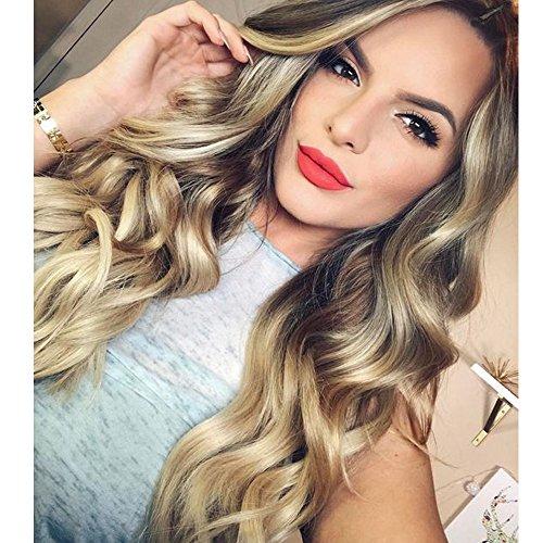 glitery gold curls