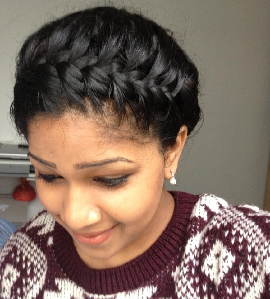 Crown braids for black girls