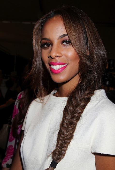 Fishtail braid for black girls