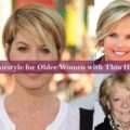 Hairstyle for Older Women with Thin Hair
