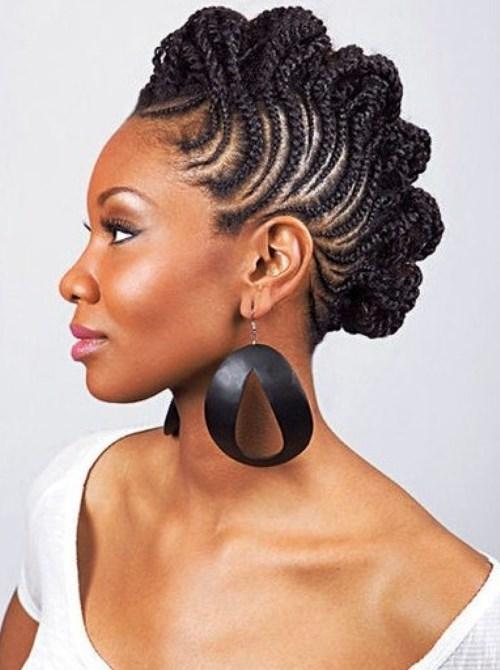 Mohawak braid for black girls