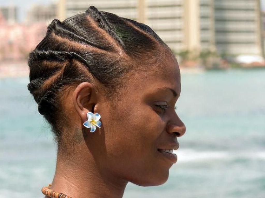 Textured braid for black girls