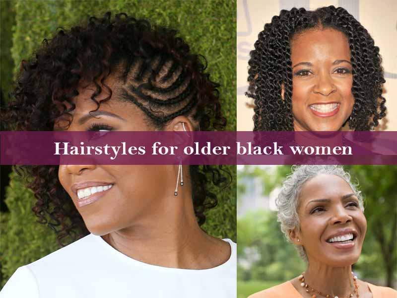 Hairstyles for older black women