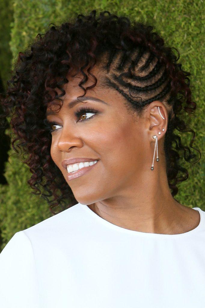 Queen braid hairstyle