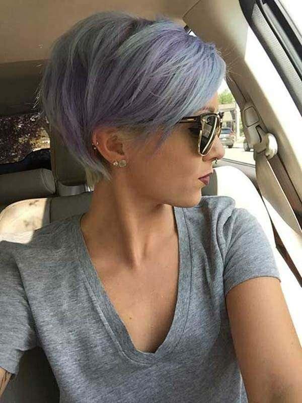 shades of purple pixie