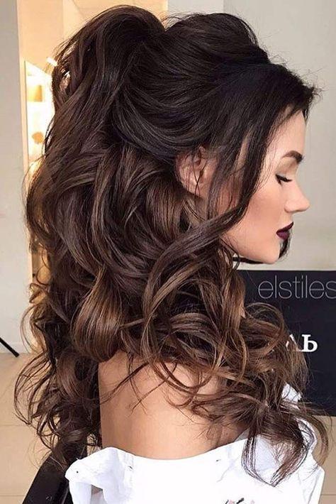 half up braidsmaid hairstyle